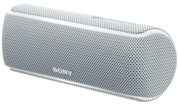 Sony SRS-XB21, bílá/stříbrná