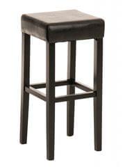 BHM Germany Barová židle Jully (SET 2 ks), černá podnož