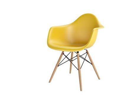 Mørtens Furniture Jídelní židle s dřevěnou podnoží Blom, olivová