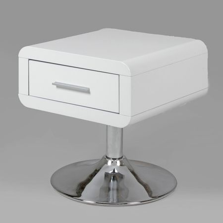 Design Scandinavia Noční stolek se zásuvkou Loof