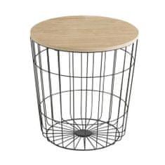 Design Scandinavia Konferenční stolek Pavola, 39 cm, černá
