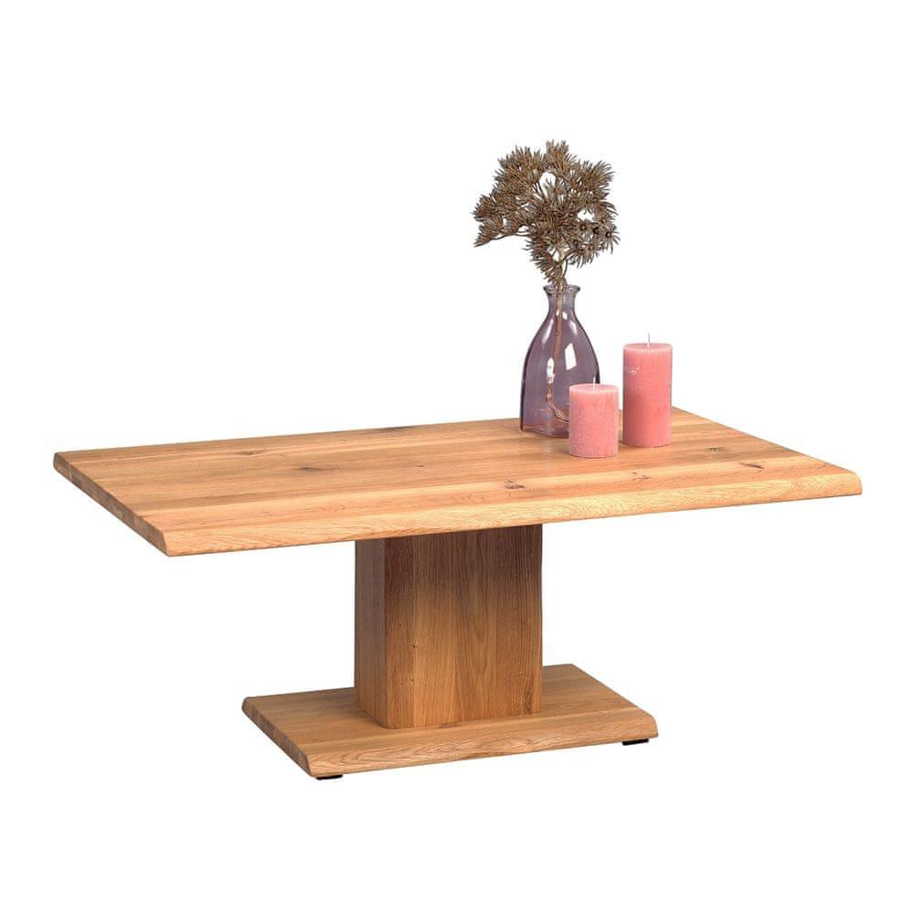 Artenat Konferenční stolek z masivu Kent, 105 cm, divoký dub