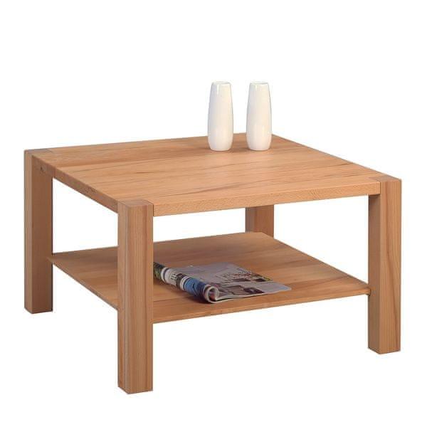 Artenat Konferenční stolek z masivu Silas, 70 cm, buk