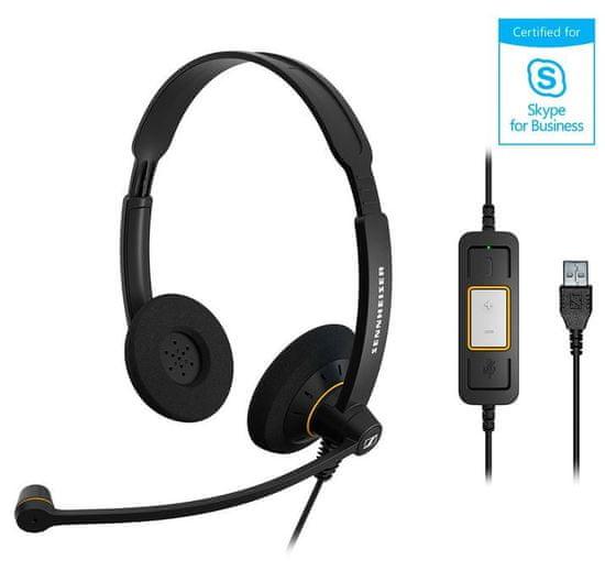 Epos Sennheiser slušalke SC 60 USB ML