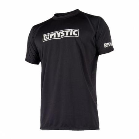 Mystic majica Quickdry STAR SS, črna, S