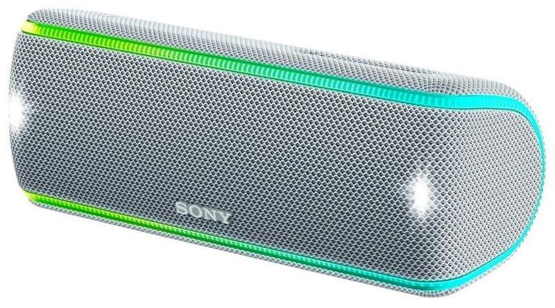 Sony SRS-XB31, bílá/stříbrná