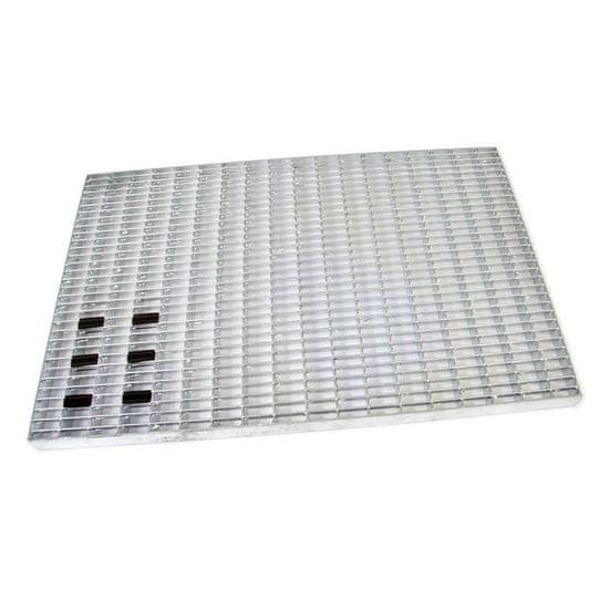 FLOMA Kovová venkovní čistící vstupní rohož Grid - 40 x 60 x 3 cm