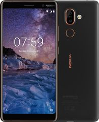 Nokia 7 Plus, Single SIM, 4GB/64GB, Black
