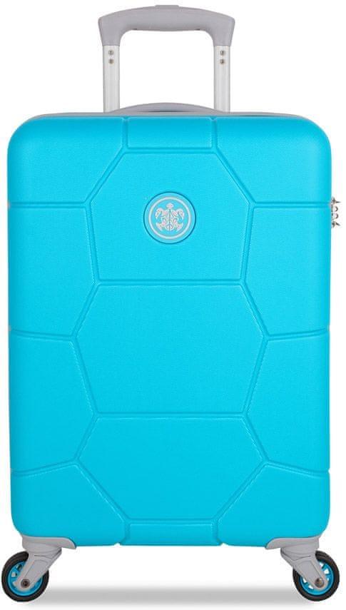 SuitSuit Cestovní kufr Caretta S Peppy Blue