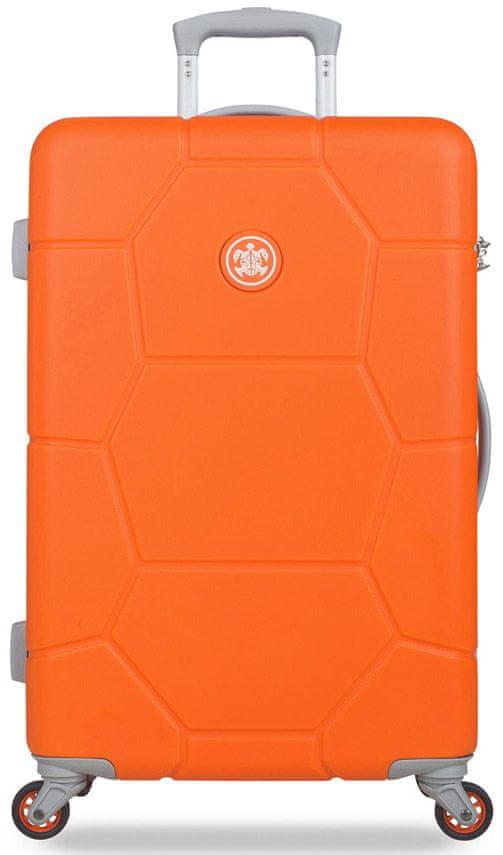 SuitSuit Cestovní kufr Caretta M Vibrant Orange