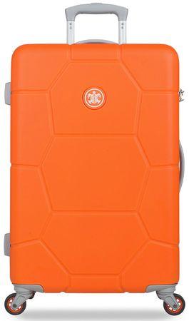 SuitSuit Cestovný kufor Caretta M Popsicle Orange