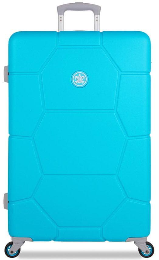 SuitSuit Cestovní kufr Caretta L Peppy Blue
