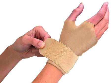 Mueller kompresijska rokavica, M, bež