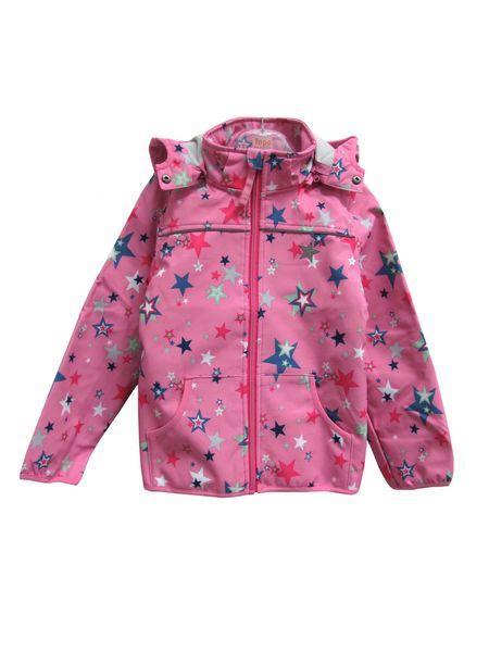 Topo dívčí bunda 98 růžová