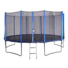 Spartan trampolin z mrežo in lestvijo Spartan, 487 cm