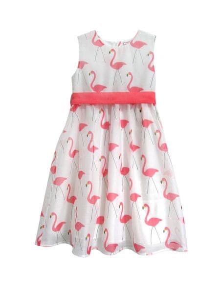 Topo dívčí šaty 98 bílá
