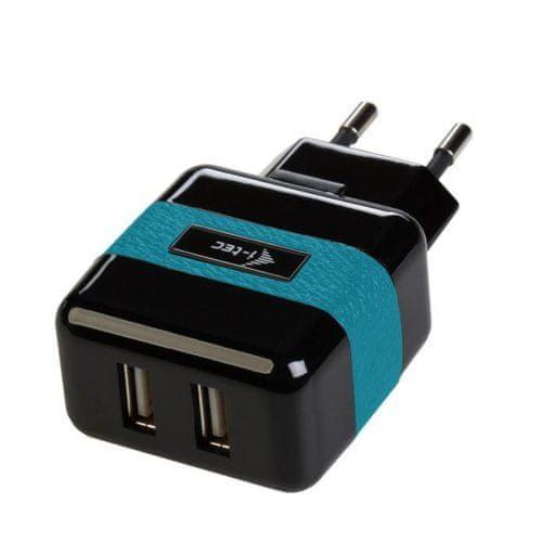 I-TEC USB Power Charger 2x USB type A 2.1A - nabíječka pro USB zařízení