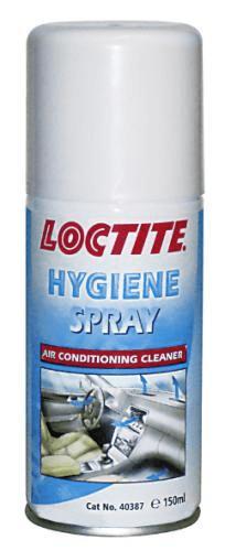 """Loctite Čistič klimatizace, hygienický sprej, typ """"granát"""", 150 ml"""