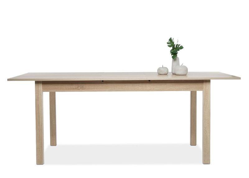 FARELA Jídelní stůl rozkládací Kronborg, 200 cm, dub