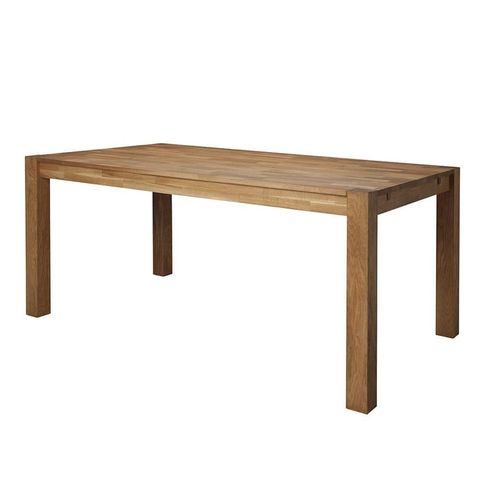 Danish Style Jídelní stůl z masivu Boost, 180 cm, dub