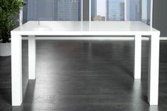 Mørtens Furniture Jídelní stůl Laura, 140 cm, bílá