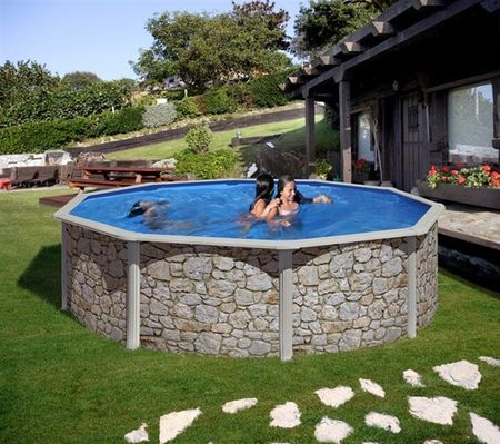 Planet Pool bazen KIT 350P, 350 x 120 cm, barvan