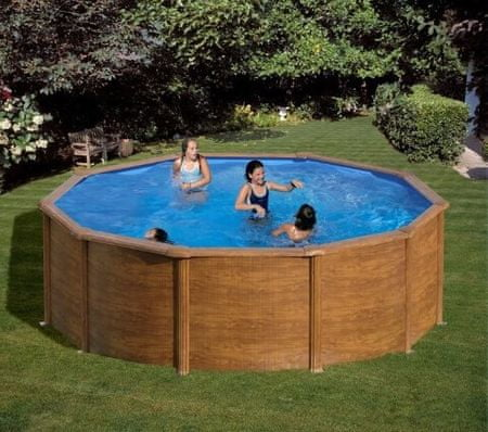 Planet Pool bazen KIT 460W, 460 x 120 cm, barvan