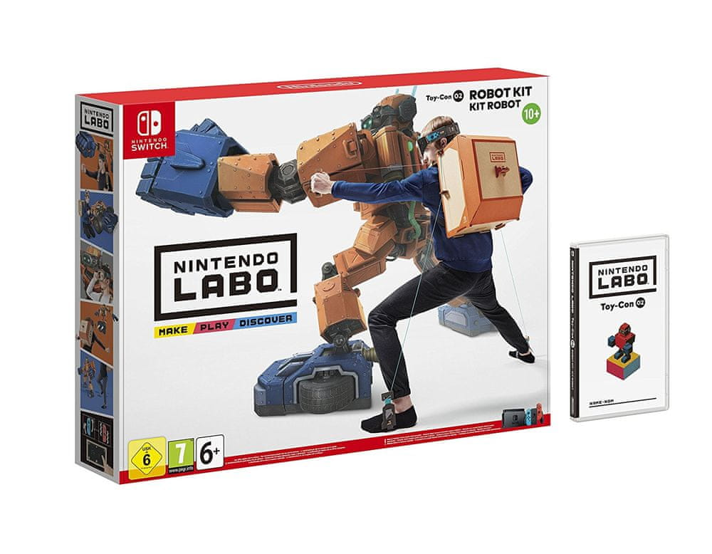 Nintendo Switch Labo Robot Kit / Switch