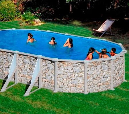 Planet Pool bazen KIT 500P, 500 x 300 x 120 cm, barvan