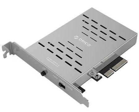 Orico RAID kartica PRS2 iz 2x M.2 SSD v PCI-E