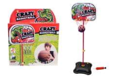 Unikatoy stoječi kovinski koš Crazy Backetball (24937), 156 cm