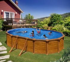 Planet Pool bazen KIT 500W, 500 x 300 x 120 cm, SOLO