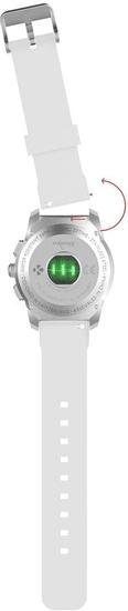 MyKronoz ZeTime Original Silver/White - 44 mm