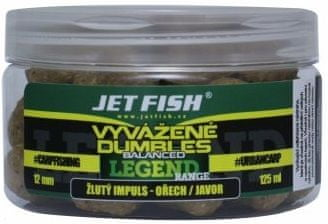 Jet Fish Vyvážené Dumbles Legend Range 125 ml 12 mm klub red švestka scopex