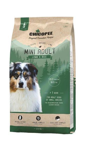 Chicopee Classic Nature Mini Adult Lamb & Rice 2 kg