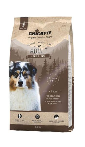 Chicopee Classic Nature Adult Lamb & Rice 2 kg