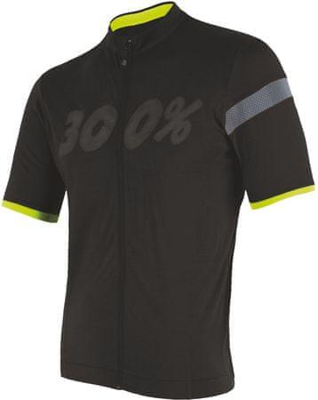 Sensor moška kolesarska majica Cyklo Classic, črna, XXL