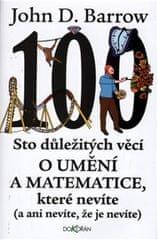 Barrow John D.: Sto důležitých věcí o matematice a umění, které nevíte (a ani nevíte, že je nevíte)
