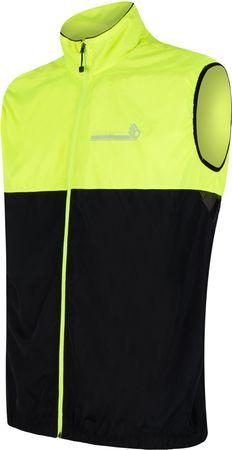 Sensor moški brezrokavnik Neon, črno rumen, M