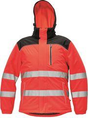 Červa Zimná reflexná bunda Knoxfield Hi-Vis