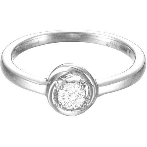 Esprit Stříbrný prsten se zirkonem ESPRIT-JW50036 57 mm