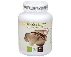 Natural Medicaments Hlíva ústřičná Premium s vitamínem C 90 cucacích tbl.