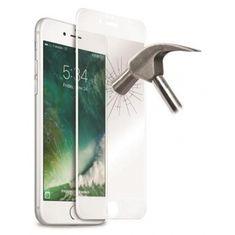 Puro zaščitno steklo Edge za iPhone 6/7/8 Plus, belo
