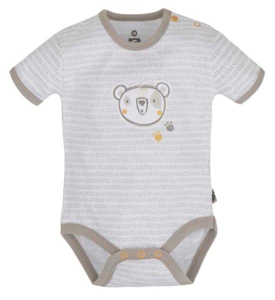 G-mini Dětské body Medvídek - béžové, 62 cm