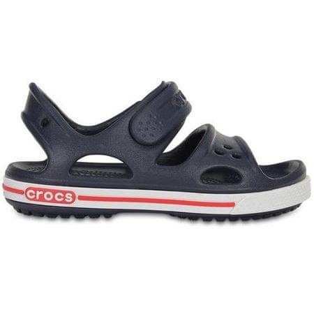 5909a10c015 Crocs Crocband II Sandal Navy White 34