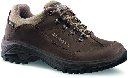 Scarpa ženski pohodniški čevlji Cyrus GTX Wmn Brown, rjavi, 41