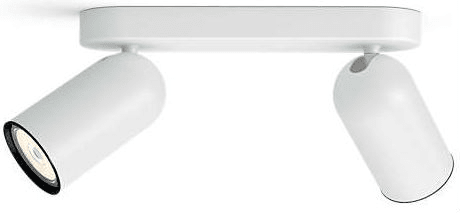 Philips regulowany reflektor podwójny PONGEE LED 50582/31/PN
