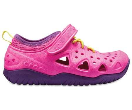 Crocs Swiftwater Play Shoe K Neon Magenta 28,5 ružová