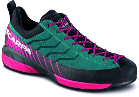 Scarpa Mescalito Wmn Tropical Green/Rose Red 38