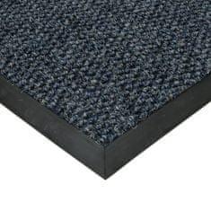 FLOMA Modrá textilní zátěžová vstupní čistící rohož Fiona - 300 x 100 x 1,1 cm